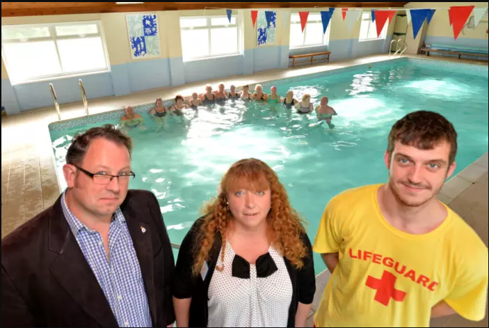 Wragby Swimming Pool is now making a big splash!